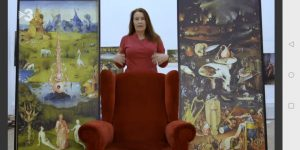"""Interview über """"Der Garten der Lüste"""" von Hieronymus Bosch für das Kapitel """"Emotion"""" des Programms """"This is art"""""""